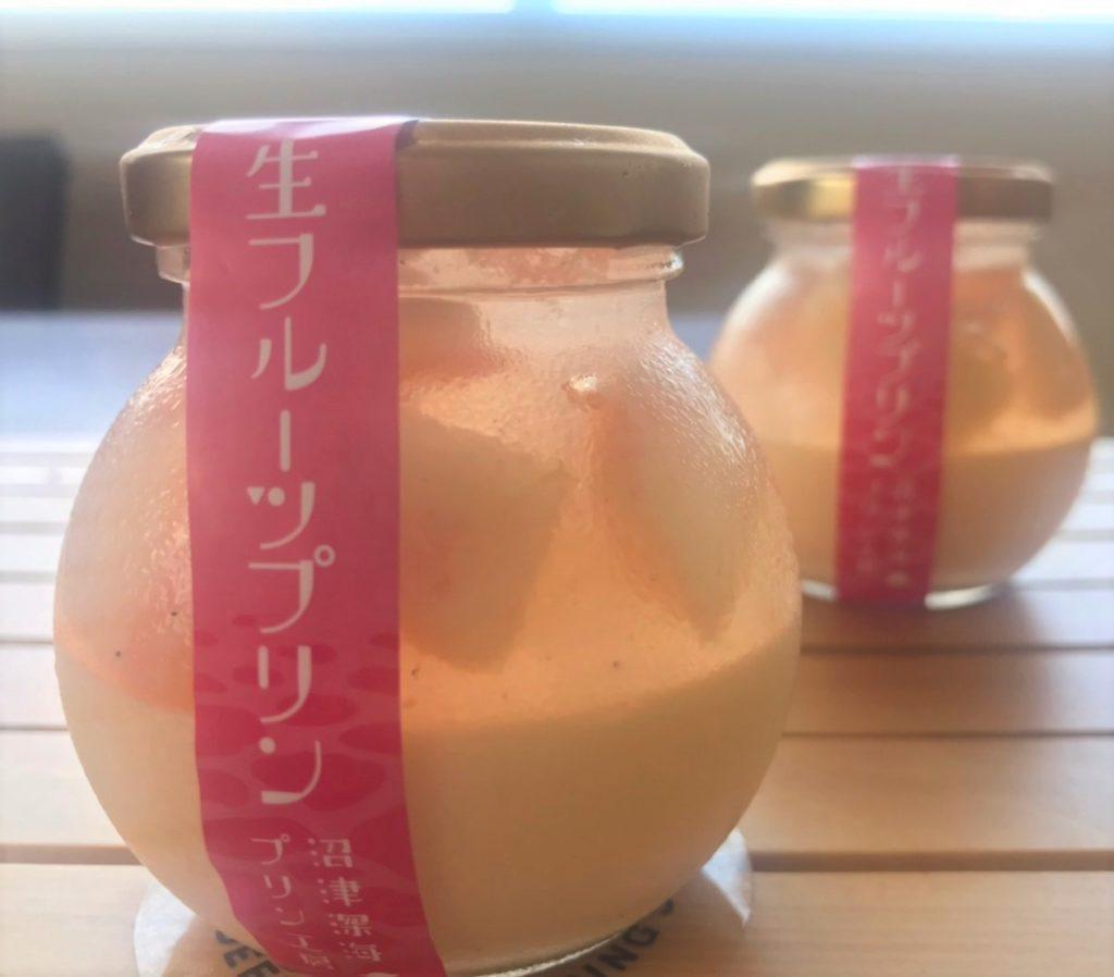 【季節限定】生フルーツプリン